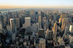 Empire State Buildingin katolta avautuvat upeat näkymät yli Manhattanin. #NYC #Aurinkomatkat