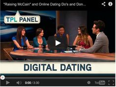 Take Part Live on PivotTV: Online Dating Dos and Don'ts. Digital Dating Panel.