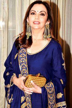 Nita Ambani at an event to create social awareness. #Page3 #Fashion #Style #Beauty