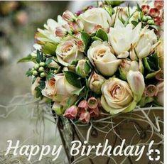 Wishes birthday woman - Geburtstag Happy Birthday Flowers Images, Happy Birthday Wishes Images, Happy Birthday Greetings, Birthday Greeting Cards, Happpy Birthday, 60th Birthday, Birthday Quotes, Funny Birthday, Birthday Celebration