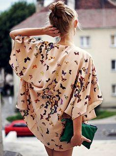Kimono butterflies