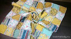 Baby Rag Quilt  Потрепанный квилт/ раг квилт