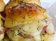 Absolute Best Ham and Cheese Sliders Recipe