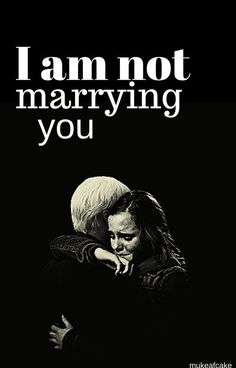 I am not marrying you   dramione by confusedpickle