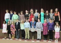 Twenty-Three Students Inducted Into Elementary Honor Society