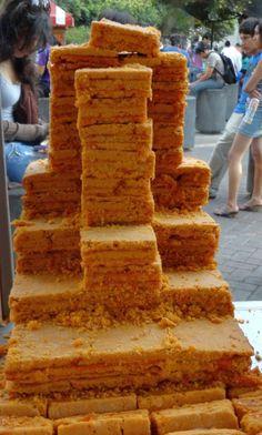 ¡Kachkaniraqmi!: Chumbeque tradicional piurano: receta Peruvian Desserts, Peruvian Cuisine, Peruvian Recipes, Brownie Cupcakes, Cupcake Cookies, Cream Cheese Flan, Delicious Desserts, Yummy Food, No Sugar Foods