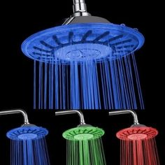 Coby 7 Color Shower head  www.Thisthatshop.com