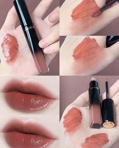 Kiss Makeup, Beauty Makeup, Mac Makeup, Drugstore Beauty, Batons Matte, Lip Makeup Tutorial, Korean Makeup Tutorials, Makeup Swatches, Lipstick Swatches