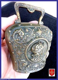 French 19thC Fine Bronze Bell Renaissance Style Cloche | eBay