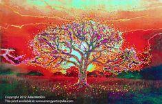 """The Theta Healing Tree"" Energy Artist Julia (via Facebook)"