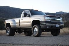 2003 Lifted Chevy Duramax Diesel 3500 4x4 Single Cab