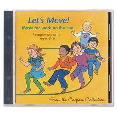 Lets Move! CD:Dr. Elisabeth Caspari, who devoted her life to Montessori…