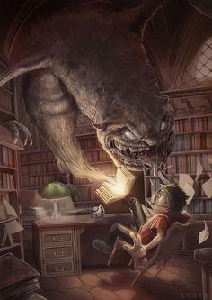 #Storybook #Horrors, #Drawings, #Illustration