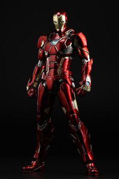 Sentinel Re:Edit 09 New Century Iron Man - The Toyark - News