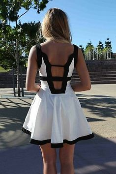 Beautiful dress with open back