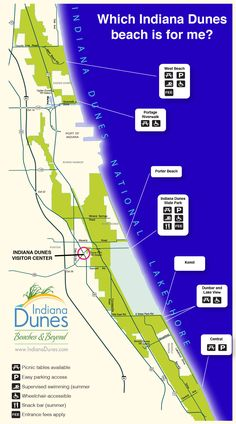 Which Indiana Dunes beach fits what you're looking for? With 7 spots to choose from, we have something for everyone!