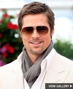 He gets HOTTER with age just Like FINE WINE! I'll take a bottle of BRAD PITT any day of the week!
