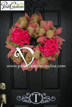 Spring Decor Wreath Spring Wreath Spring Mesh by poshcreationsKY