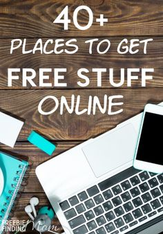 Does the thought of snagging a bunch of cool internet freebies get you excited? Then check out this massive list of over 40 places where you can score free stuff online. These freebie websites offer free eBooks, free printables, freebies for kids, free photo books, free diapers, free baby items, and more!