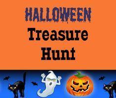 Free Printable #Halloween Treasure Hunt for #Kids