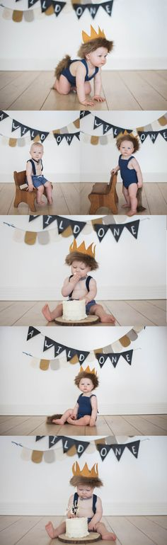 a wild one banner, where wild things are party, cake smash, boy cake smash, where wild things are cake smash, a wild one party, a wild one cake smash, a wild one shoot, baby boy party ideas,