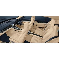 porsche panamera interior World Car Models via Polyvore