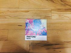 Pantone Marble coaster