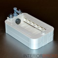 Lego Furniture Bathtub w All Parts Instructions White Set House Bathroom | eBay