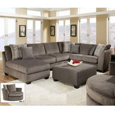 Charisma 3 pc Sectional for $1094 at Weekends Only