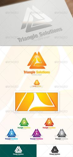 Triangle Solutions by CreativeW0rk An excellent logo for an International Business Company. • Resizable Vector logo • Vector Horizontal and Vertical display • Hig