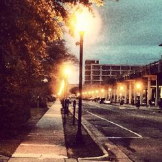 """Water Street, Wilmington, NC  """"Thy word is a lamp unto my feet, and a light unto my path"""" (Psalm 119:105)"""