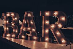 Book our marquee Bar sign for your next event today !