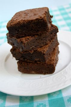 Excellent basic brownie recipe.  I generally add a 1/4 cup of espresso powder as well.