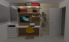 Decor em ação: Mobiliário Fernanda Cavalcante Quentino: Design de Interiores, projetos de interiores, projetos online, projeto de móveis, paisagismo...
