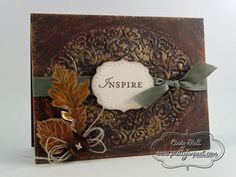 Rustic Inspiration by Cindy Hall - Cards and Paper Crafts at Splitcoaststampers