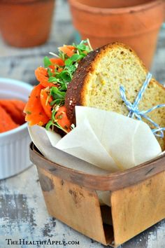 Easy Gluten-Free Veggie Sandwich | TheHealthyApple.com (vegan)