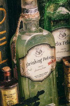 Other: DIY Harry Potter Potions for Halloween: Shrinking Potion