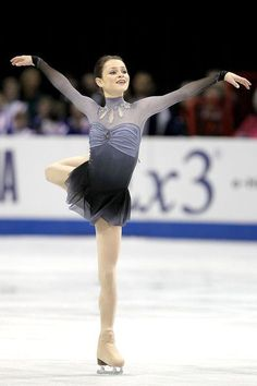 Sasha Cohen  -Grey Figure Skating / Ice Skating dress inspiration for Sk8 Gr8 Designs.