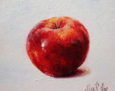 Grape Tomatoes Original Oil Painting by Nina by NinaRAideStudio