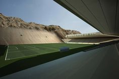 Rock Stadium | Brilliant Sporting Architecture By MZ Architects