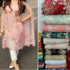 No automatic alt text available. Net Dresses Pakistani, Pakistani Fashion Party Wear, Pakistani Dress Design, Punjabi Dress, Stylish Dress Designs, Stylish Dresses, Fashion Dresses, Indian Designer Outfits, Designer Dresses
