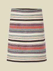 wild stripe island skirt