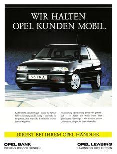 Opel Astra F GSi in novaschwarz metallic Retro Cars, Vintage Cars, Chevrolet, German, History, Vehicles, Leasing, Garage, Metallic