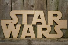 Star Wars wood cut sign by ArrayOfDelight on Etsy https://www.etsy.com/listing/257494215/star-wars-wood-cut-sign