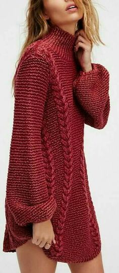 Cowl neck instead - Strickanleitung