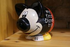 Mickey Pig by Karly @ Piece of Mine Pottery Studio