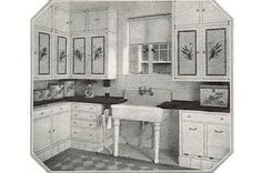 images of 1900 kitchen sinks | love that sink! When we tore out a false panel on a wall, there was ...
