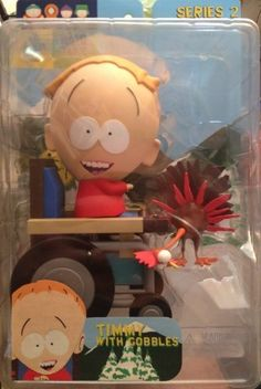 Comedy Central SOUTH PARK Timmy with Gobbles Series 2 Figure Playset @ niftywarehouse.com #NiftyWarehouse #Nerd #Geek #Entertainment #TV #Products