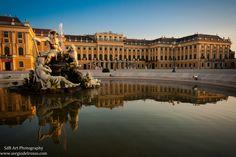 Schonbrunn, Palace garden, Wien, Austria