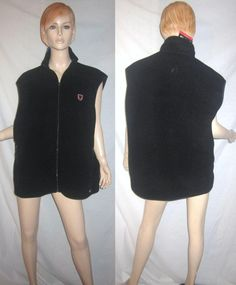 NWT PATAGONIA SYNCHILLA Fleece Golf Patch Black Vest XXL 2XL
